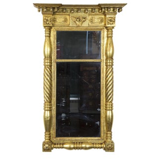 Classical Carved Gilt Mirror