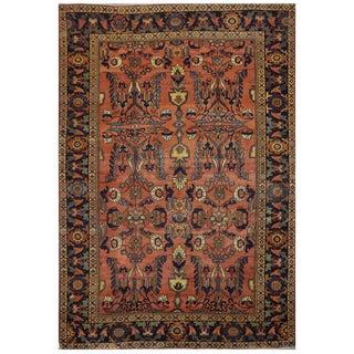Antique Persian Mahal Rug - 7′1″ × 10′6″
