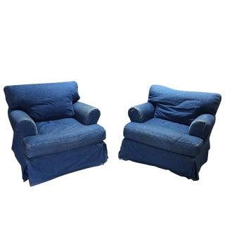 Vintage Used Club Chairs Chairish