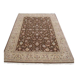 Handmade Persian Isfahan Rug - 8′7″ × 11′7″