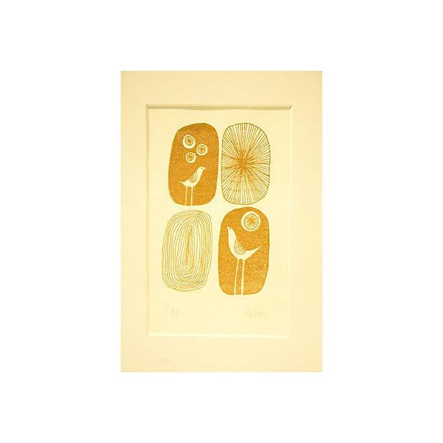 Image of Signed Mid-Century Art from New Zealand