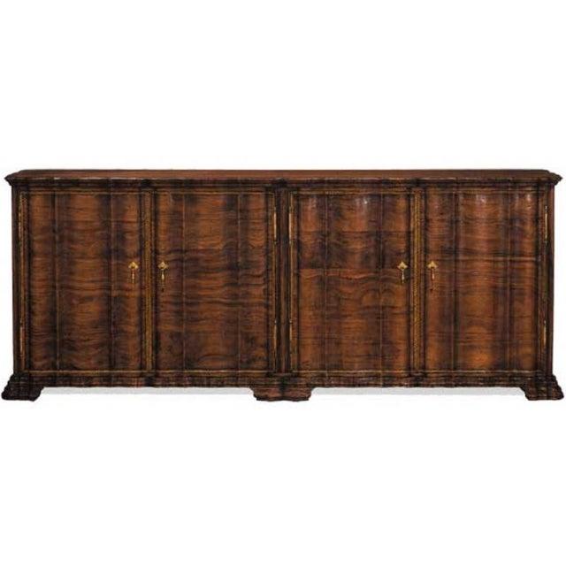 ebanista hand carved sideboard chairish. Black Bedroom Furniture Sets. Home Design Ideas