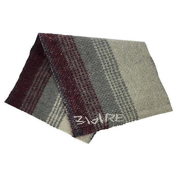 Repurposed Wool Blanket Lumbar Pillows - A Pair - Image 6 of 6