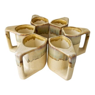 Mid-Century Modern Rodolpho Padilla Coffee Mugs - Set of 6