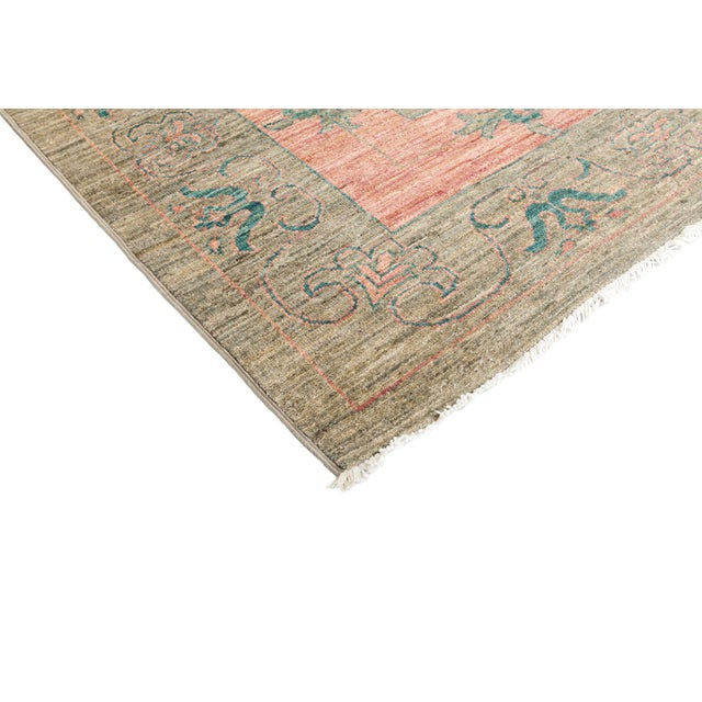 """New Hand Knotted Area Rug - 10'1"""" x 13'10"""" - Image 2 of 3"""