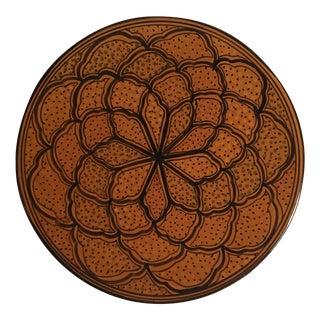 "Vintage Tunisian/ Moroccan Platter-15"""