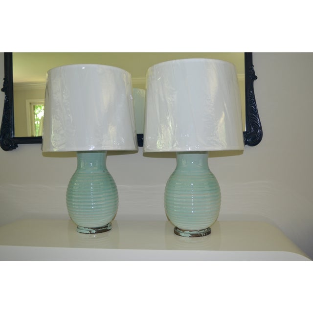 Carlyle Hotel Lamps, Pair - Image 3 of 5