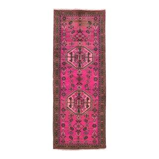 "Apadana - Vintage Overdyed Rug, 3'5"" x 9'5"""