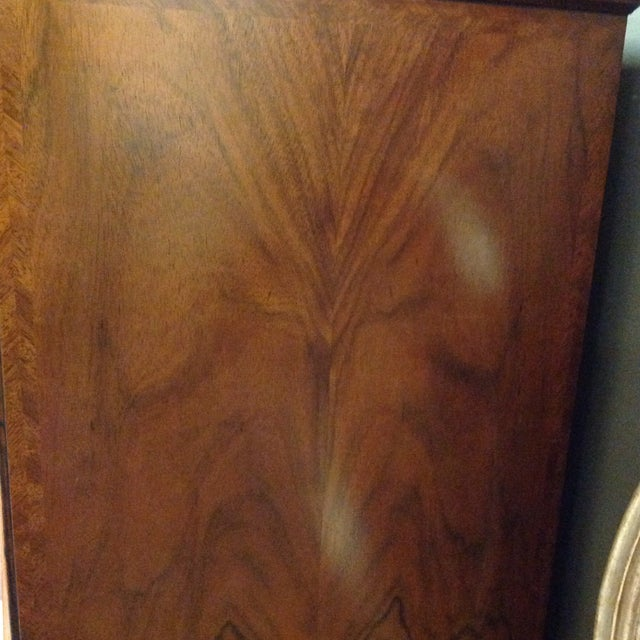 2 Piece Maitland-Smith Walnut Chest on Stand - Image 3 of 6