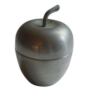 Pewter Apple Box by Woodbury