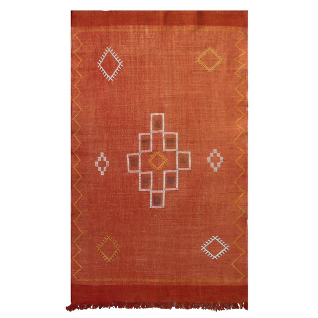 Moroccan Cactus Silk Rug - 3′ × 4′8″ - Image 2 of 2
