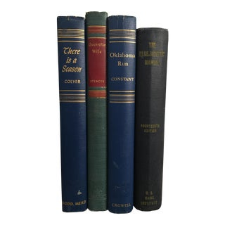 Mid-Century Navy Books - Set of 4