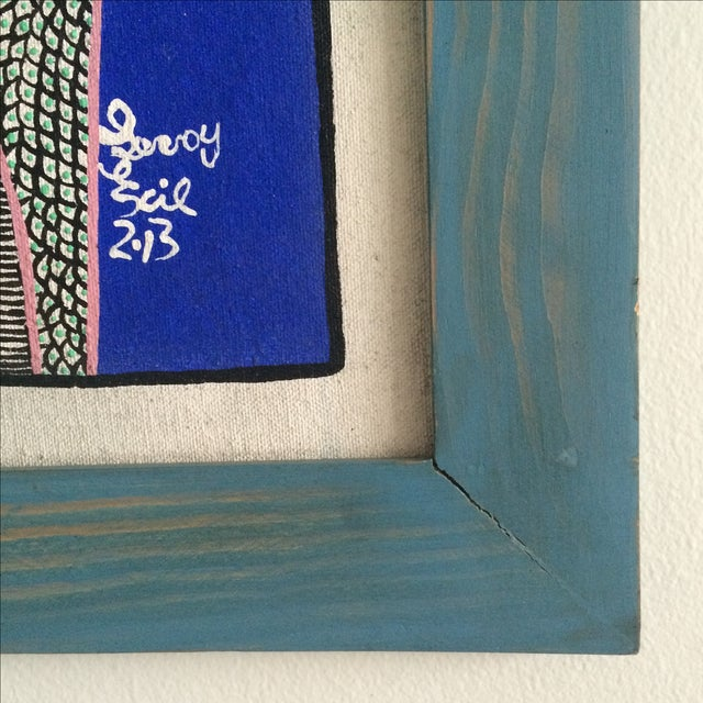 Framed Painting by Levoy Exil - Image 8 of 8