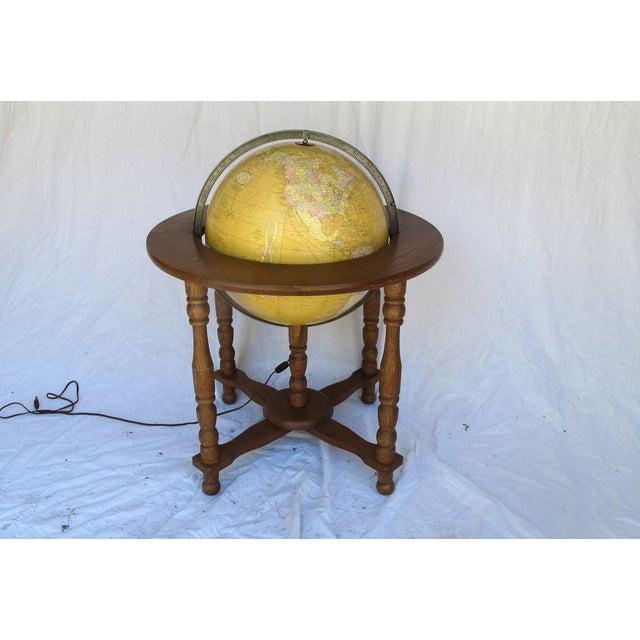 """Cram's Since 1876"" Vintage Electrified Globe - Image 2 of 6"