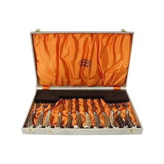 English Sheffield Stag-Horn Steak Set