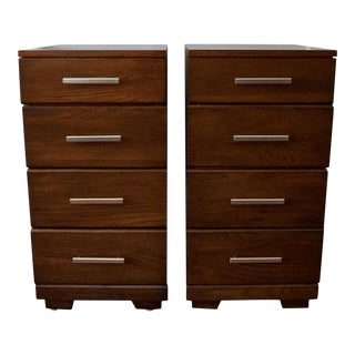 Raymond Loewy for Mengel Mid-Century Modern Nightstands - a Pair