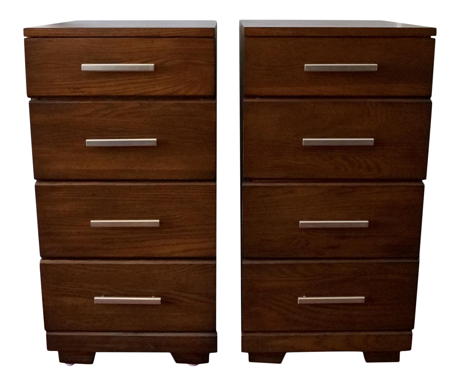 Raymond Loewy For Mengel Mid Century Modern Nightstands   A Pair