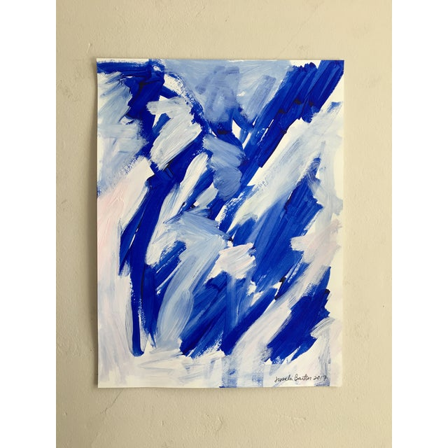 "Jessalin Beutler ""No. 23"" Acrylic Painting - Image 2 of 6"