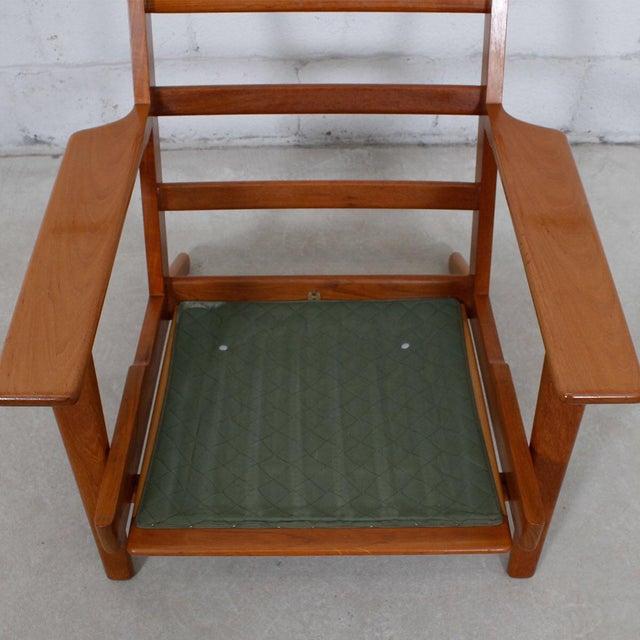 Hans Wegner For Getama Lounge Chair & Ottoman - Image 7 of 10