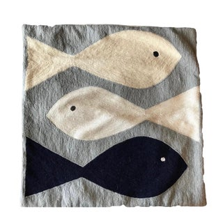 Jonathan Adler Brasilia Fish Pillow
