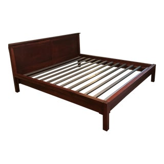 Room & Board Maple King Bedframe