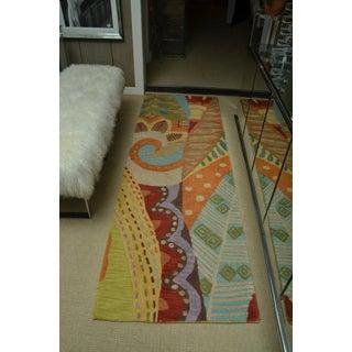 Attractive Carpet Runner in Multi-Colored Deco Pattern