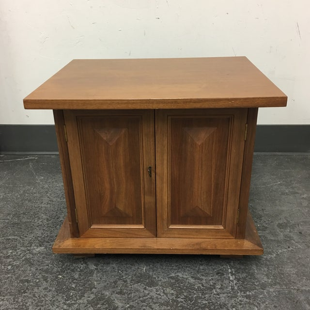 Vintage Michael Taylor Side Table/Nightstand - Image 2 of 7