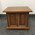 Image of Vintage Michael Taylor Side Table/Nightstand