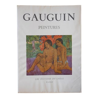 1949 Paul Gauguin Vintage Post Impressionist Lithograph