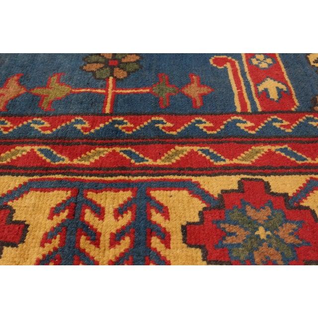 "Image of Finest Kargahi Afghan Tribal Rug - 6'8"" X 9'6"""