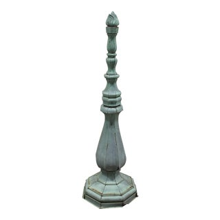 Tall Antique Copper Roof Finial
