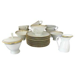 Mid-Century Porcelain Tea Set - Set of 26
