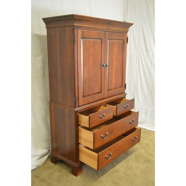 Pennsylvania house traditional cherry wood bedroom armoire