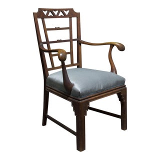 AN EXPRESSIONIST ROCOCO ARMCHAIR