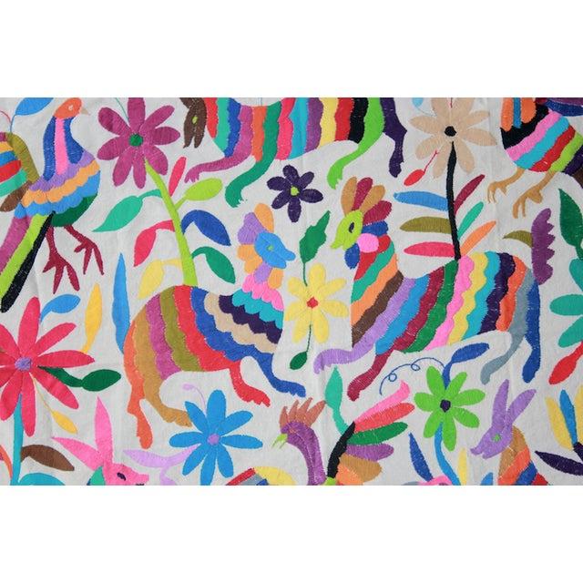 Hand-Woven Tenango Wall Decor Textile - Image 1 of 4