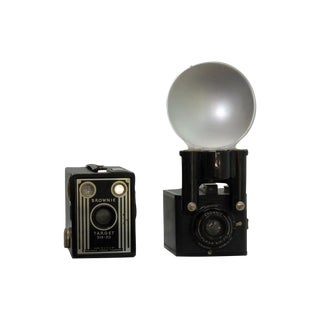 Vintage Brownie Cameras - A Pair