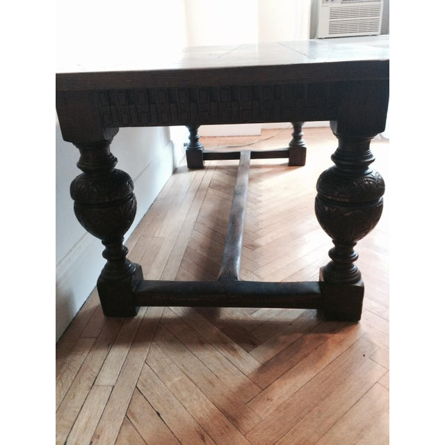 Antique Tudor Table - Image 9 of 9