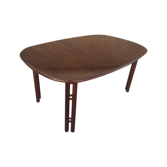 Mid-Century Rosewood Dining Table - Image 1 of 3