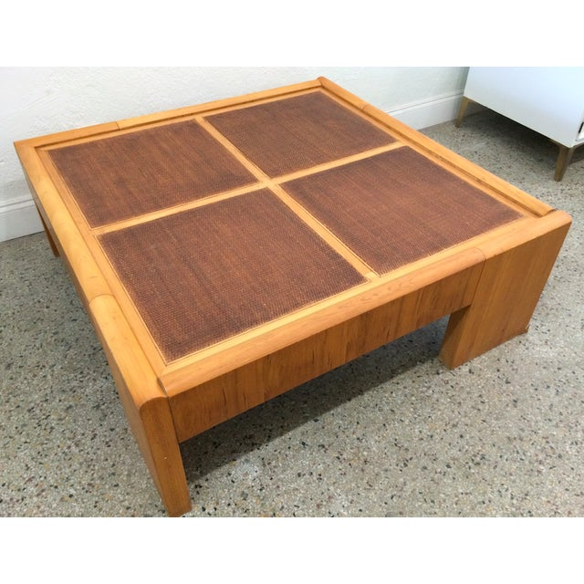 Large Wooden Coffee Table - Image 2 of 6