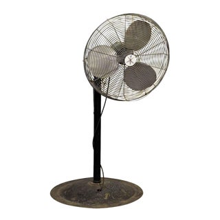 Vintage Industrial Floor Fan