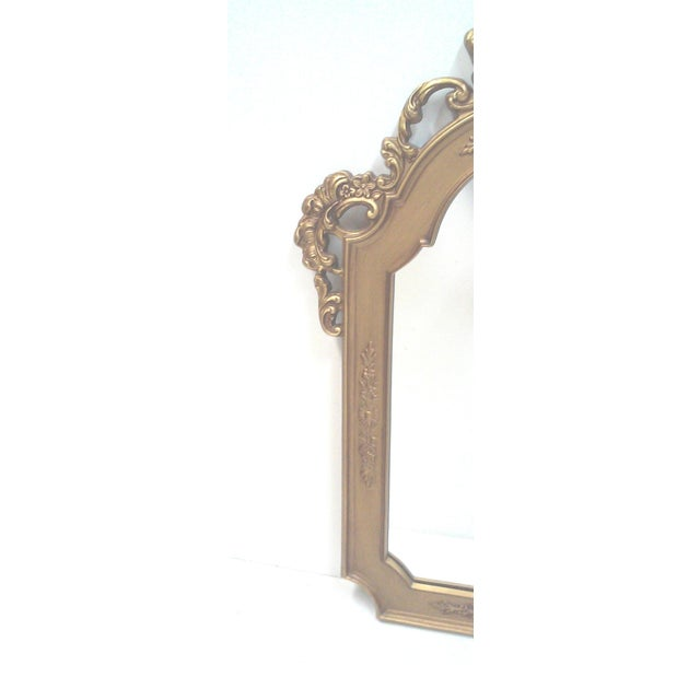 Gilt Baroque Wall Mirror - Image 3 of 5