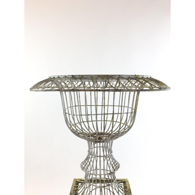 Patina Covered Plant Stand - Image 3 of 4