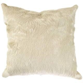 Ivory Cowhide Pillow