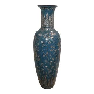 Maitland Smith Aqua Vase