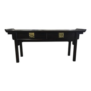 Century Chinoiserie Asian Style Console Table