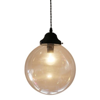 Clear Globe Pendant Light