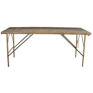 Rustic Wallpaper Table