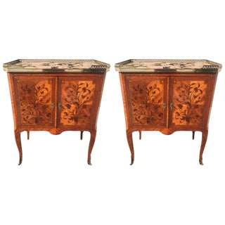 Pair of French Night Stands/Commodes