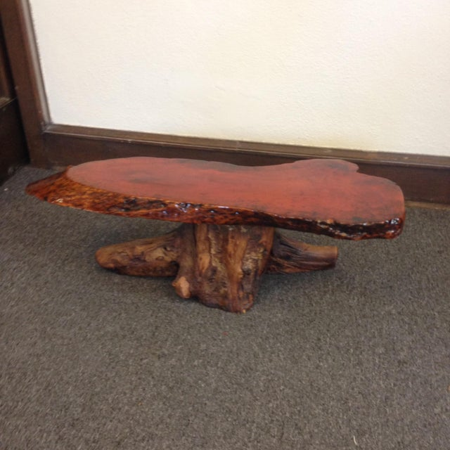 Live Edge Cypress Root Coffee Table - Image 4 of 4