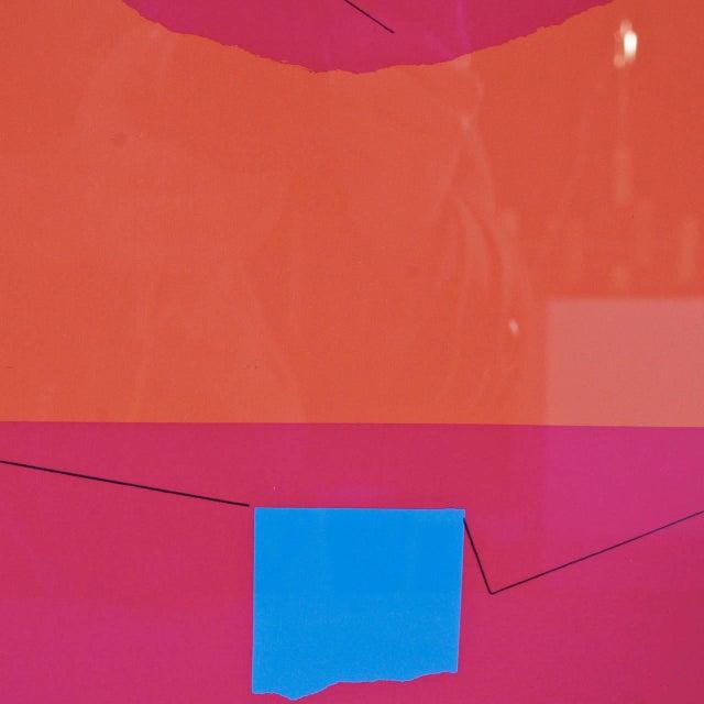 Bruno Munari Screen Print Hand Signed, 1984 - Image 3 of 7